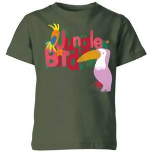 My Little Rascal Jungle Bird Kids' T-Shirt - Forest Green