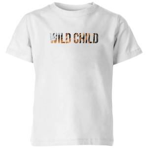 My Little Rascal Wild Child Kids' T-Shirt - White