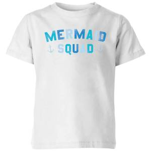 My Little Rascal Mermaid Squad Kids' T-Shirt - White