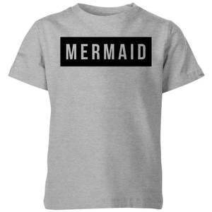 My Little Rascal Mermaid Kids' T-Shirt - Grey