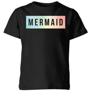 My Little Rascal Mermaid Kids' T-Shirt - Black