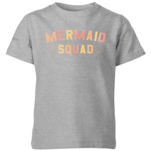 My Little Rascal Mermaid Squad Kids' T-Shirt - Grey