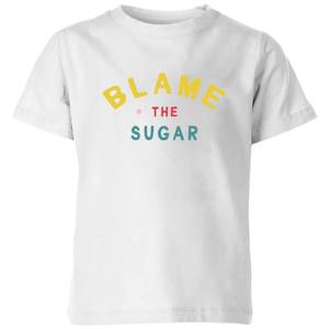 My Little Rascal Blame The Sugar Kids' T-Shirt - White