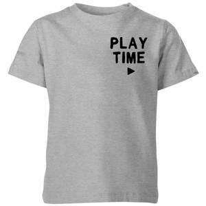 My Little Rascal Play Time Kids' T-Shirt - Grey