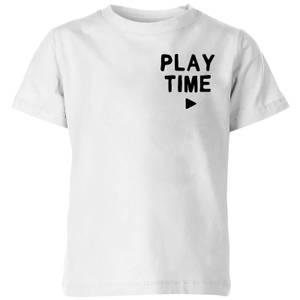 My Little Rascal Play Time Kids' T-Shirt - White