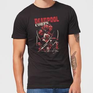 Marvel Deadpool Family Corps Men's T-Shirt - Black