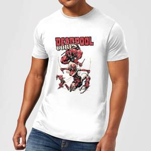Camiseta Marvel Deadpool Family Corps - Hombre - Blanco