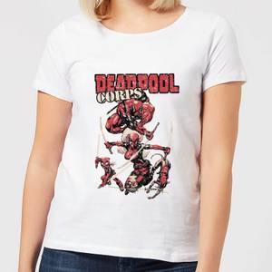 Marvel Deadpool Family Corps Women's T-Shirt - White