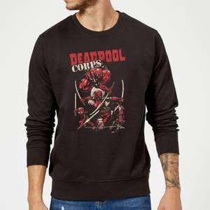 Marvel Deadpool Family Corps Sweatshirt - Black