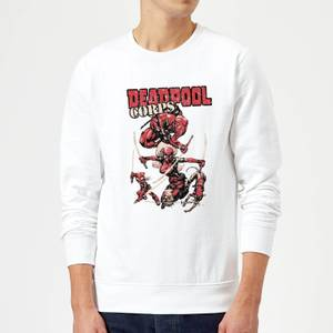 Marvel Deadpool Family Corps Sweatshirt - White