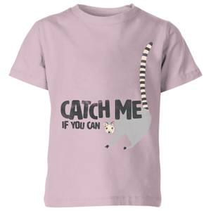 My Little Rascal Catch Me If You Can - Baby Pink Kids' T-Shirt