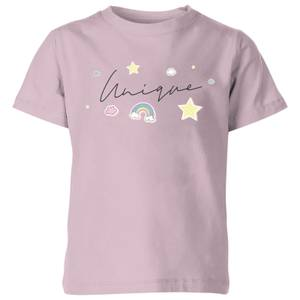 My Little Rascal Unique Baby Pink Kids' T-Shirt