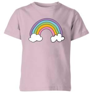 My Little Rascal Rainbow - Baby Pink Kids' T-Shirt