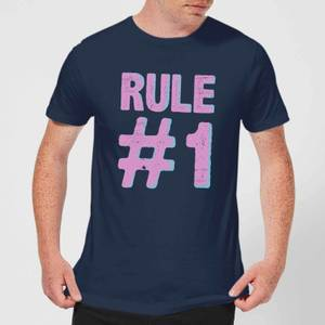 Rule #1 Men's T-Shirt - Navy