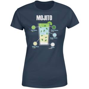 Mojito Women's T-Shirt - Navy