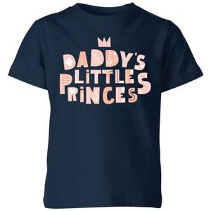 My Little Rascal Daddy's Little Princes Kids' T-Shirt - Navy