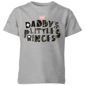 My Little Rascal Daddy's Little Princess Kids' T-Shirt - Grey