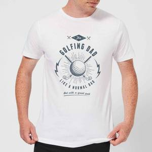 Golfing Dad Men's T-Shirt - White