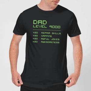 Dad Level Up Men's T-Shirt - Black
