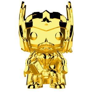 Marvel MS 10 Thor Gold Chrome Pop! Vinyl Bobblehead Figura