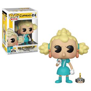 Cuphead Sally & Wind Up Mouse Pop! Vinyl Figure