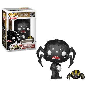 Don't Starve Webber with Spider Pop! Vinyl Figur