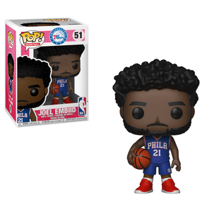 NBA 76ers Joel Embiid Pop! Vinyl Figure