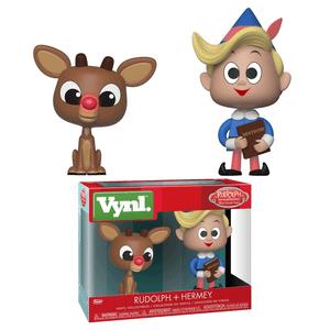 Rudolph & Hermey Funko Vynl.