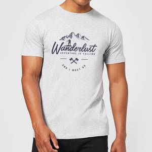 Wanderlust Men's T-Shirt - Grey