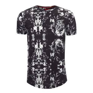 DFND Men's Marble T-Shirt - Black