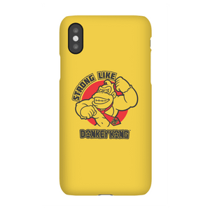 Coque Smartphone Strong Like Donkey Kong - Nintendo pour iPhone et Android