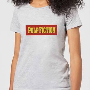 T-Shirt Femme Logo Pulp Fiction - Gris
