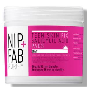 NIP+FAB Teen Skin Fix Salicylic Acid Day Pads 60 Pads