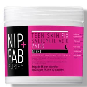 NIP+FAB Teen Skin Fix Salicylic Acid Night Pads 60 Pads