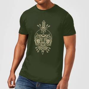 Stay Strong Athens Men's T-Shirt - Forest Green
