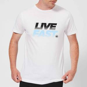 Stay Strong Live Fast Men's T-Shirt - White