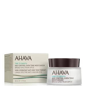 AHAVA Age Control Even Tone Moisturizer SPF 20 50 ml