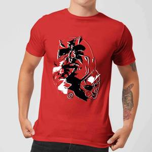 Marvel Knights Daredevil Layered Faces T-shirt - Rood