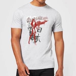 Marvel Knights Elektra Assassin Men's T-Shirt - Grey