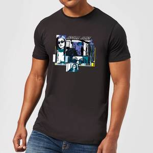 Marvel Knights Jessica Jones Comic Panels T-shirt - Zwart