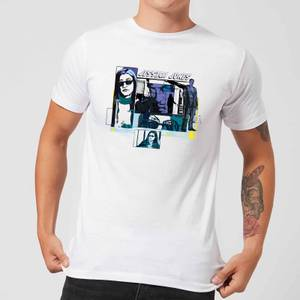 T-Shirt Homme Bulles de Comics Jessica Jones - Marvel Knights - Blanc