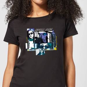 Marvel Knights Jessica Jones Comic Panels Dames T-shirt - Zwart