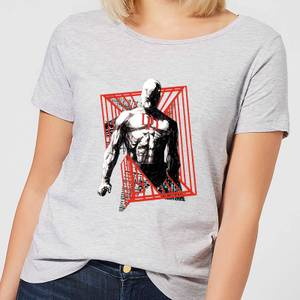 Marvel Knights Daredevil Cage Women's T-Shirt - Grey