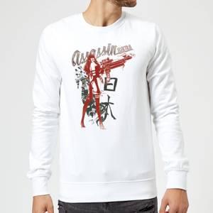 Marvel Knights Elektra Assassin Sweatshirt - White