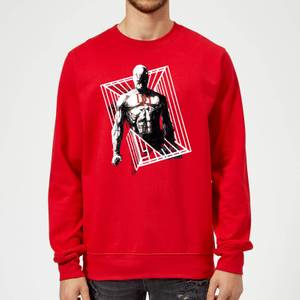 Sweat Homme Daredevil Cage - Marvel Knights - Rouge