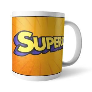 Fathers Day Superdad Mug