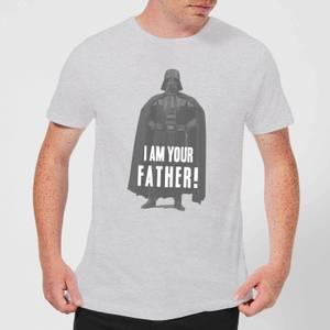 T-Shirt Star Wars Homme Dark Vador Pose Je Suis Ton Père - Gris