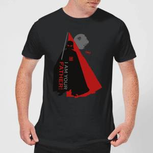 Star Wars Darth Vader I Am Your Father Dark Side Silhouettes Men's T-Shirt - Black