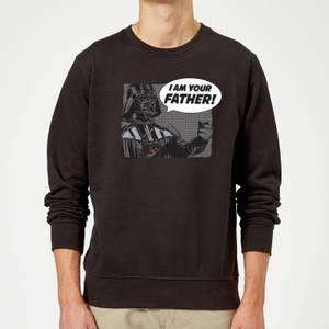 Star Wars Darth Vader I Am Your Father Sweatshirt - Black