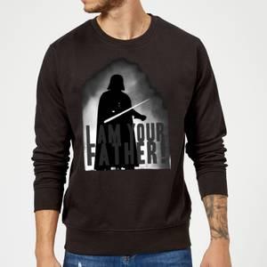 Star Wars Darth Vader I Am Your Father Silhouette Sweatshirt - Black